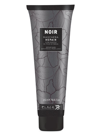 Obnovující maska pro poškozené vlasy Black Noir Repair - 250 ml (102011)