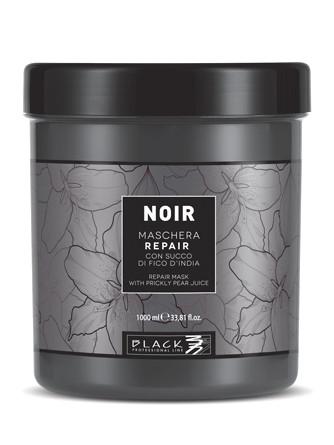 Obnovující maska pro poškozené vlasy Black Noir Repair - 1000 ml (102010)