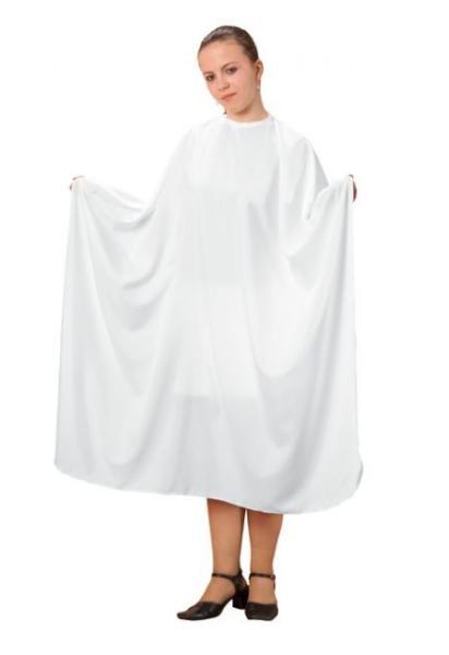 Kadeřnická pláštěnka na stříhání Fox basic line - bílá (1509404 b74c8e75c8e