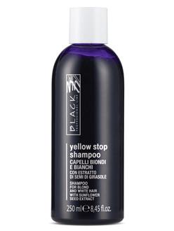 Šampon pro blond a melírované vlasy Black Yellow Stop - 250 ml (01096)