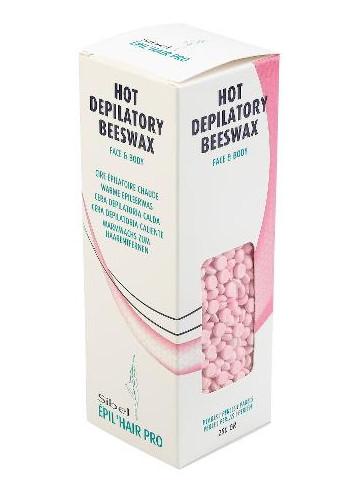 Depilační vosk na tělo a obličej Sibel Beeswax Pearls - 250 g (7410434)