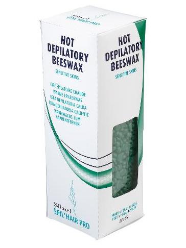 Depilační vosk na citlivou pokožku Sibel Beeswax Pearls - 250 g (7410437)