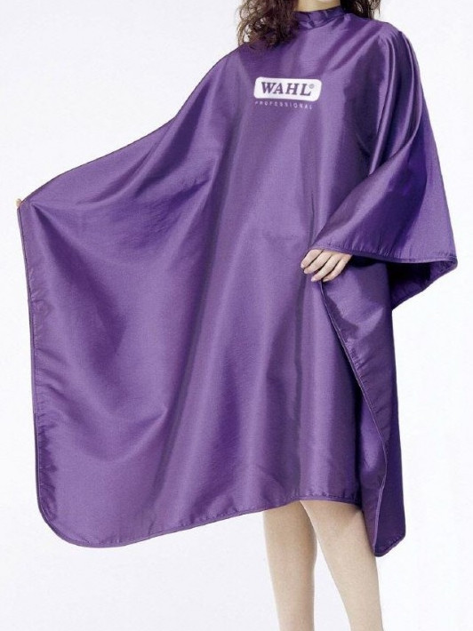 Kadeřnická pláštěnka Wahl 135 x 150 cm - fialová (4505-7001Purple)