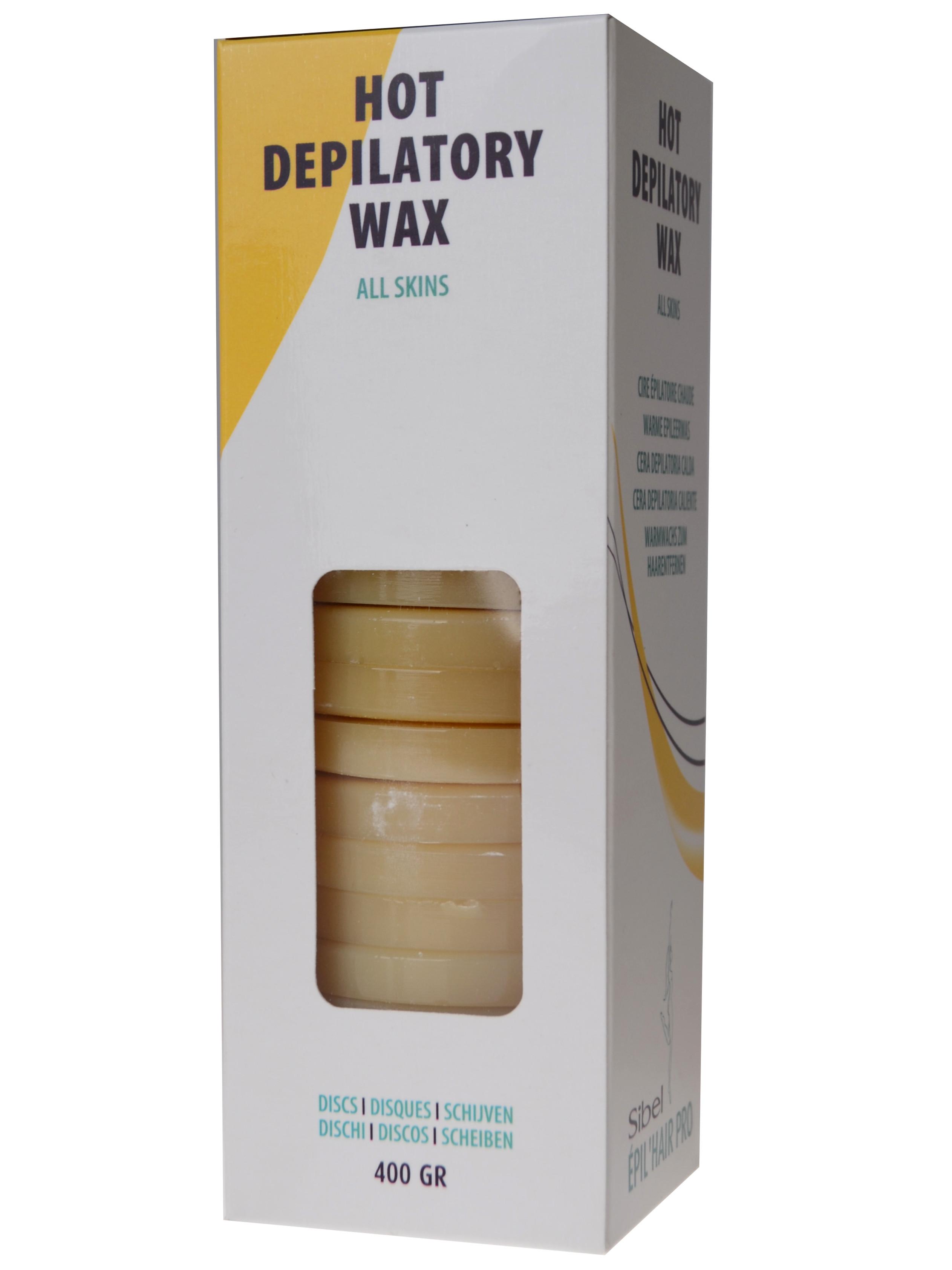 Depilační vosk pro všechny typy pleti Sibel Discs - 400 g (7410322)