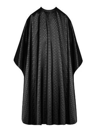 Kadeřnická pláštěnka na barvení a stříhání vlasů Sibel Dots - černá (6600548) + DÁREK ZDARMA