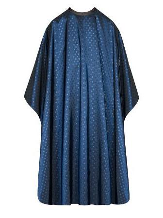 Kadeřnická pláštěnka na barvení a stříhání vlasů Sibel Dots - modrá (6600550) + DÁREK ZDARMA
