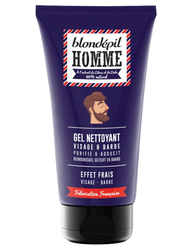 Pánský čistící gel na obličej a vousy Blondépil - 150 ml (PFC900750) + DÁREK ZDARMA