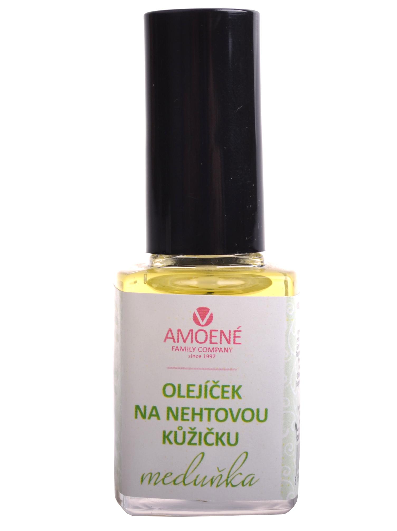Regenerační olej na nehtovou kůžičku Amoené - meduňka, 12 ml (0113000RM)