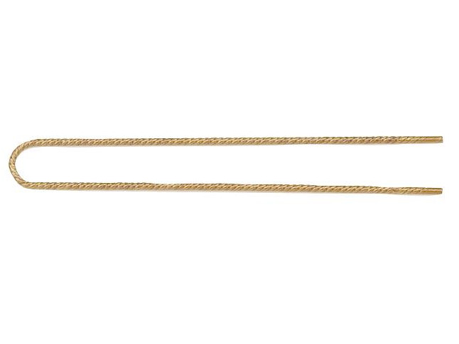 Japonská vlásenka Sibel - 5 cm, zlatá - 40 ks (4031433)