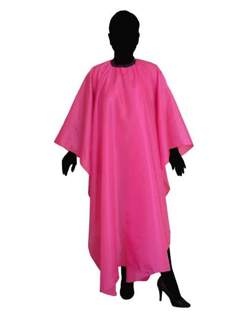 Kadeřnická pláštěnka na stříhání Duko 599 - růžová (599P) af18b8e7d54