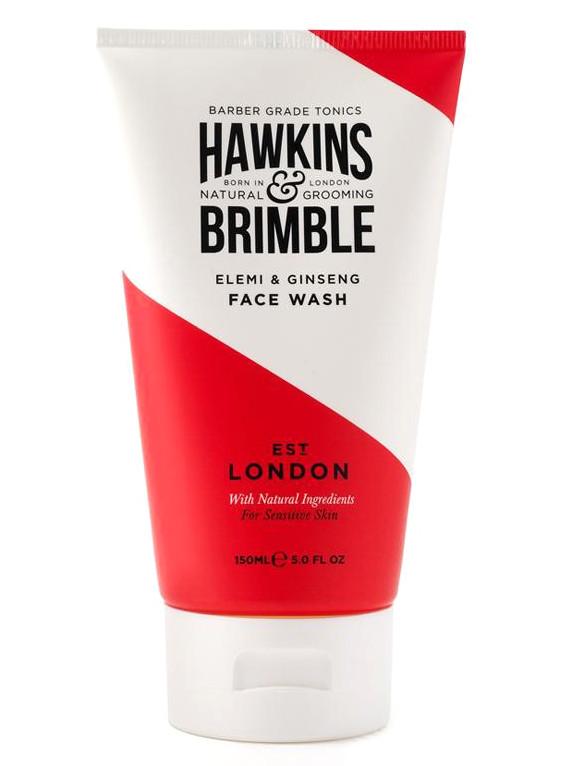 Pánský mycí gel na obličej Hawkins a Brimble Wash Face - 150 ml (HAW031) + DÁREK ZDARMA