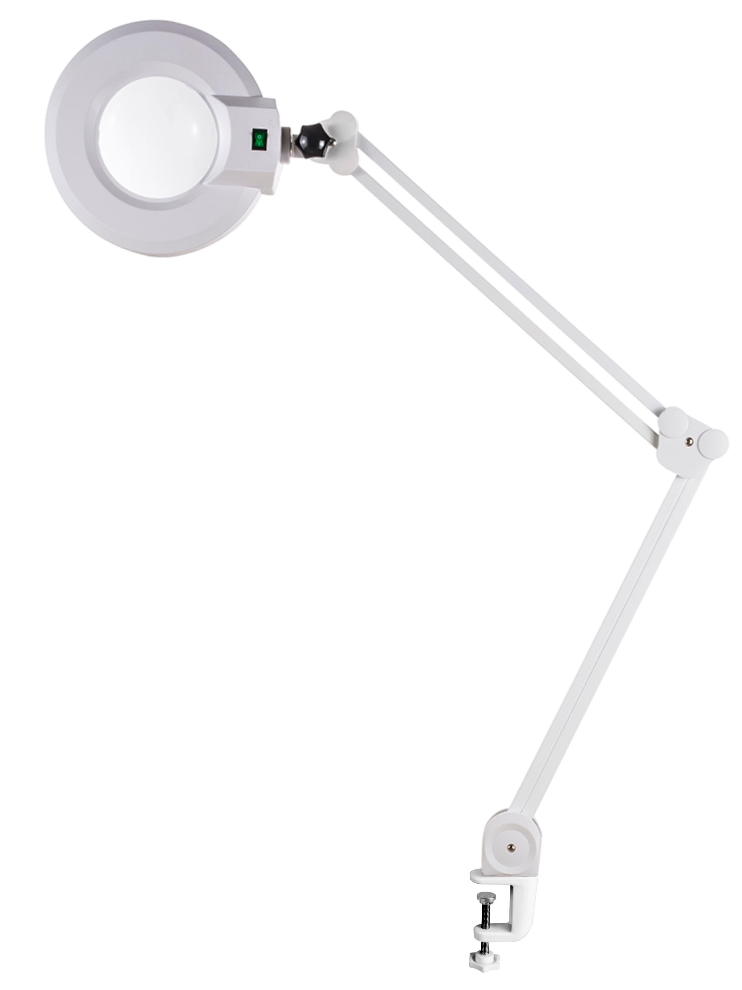 Kosmetická lampa s lupou - upevnění na stůl SilverFox 1001AT - 3 dioptrie + DÁREK ZDARMA