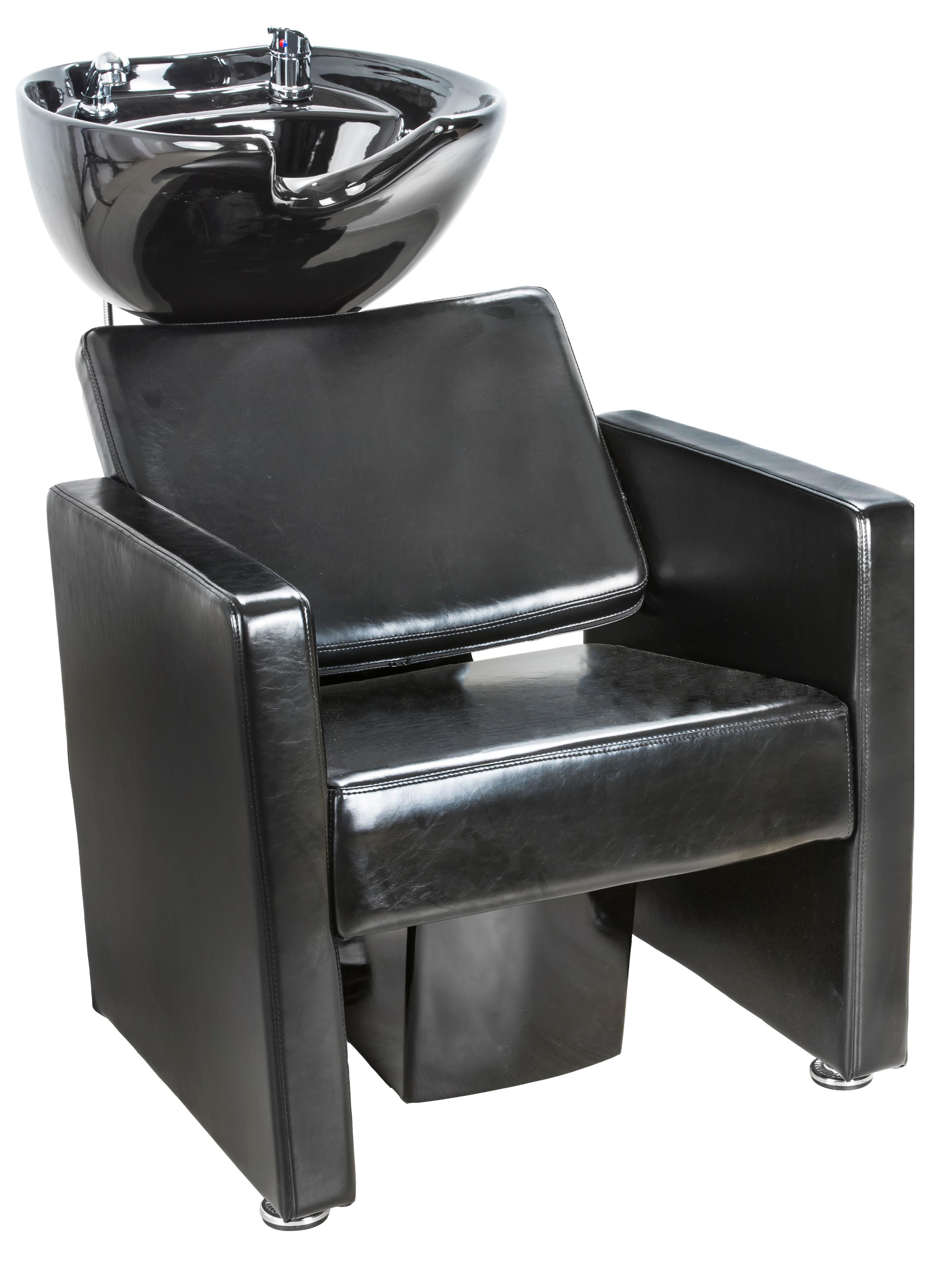 Kadeřnický mycí box SilverFox 558 - černý + DÁREK ZDARMA