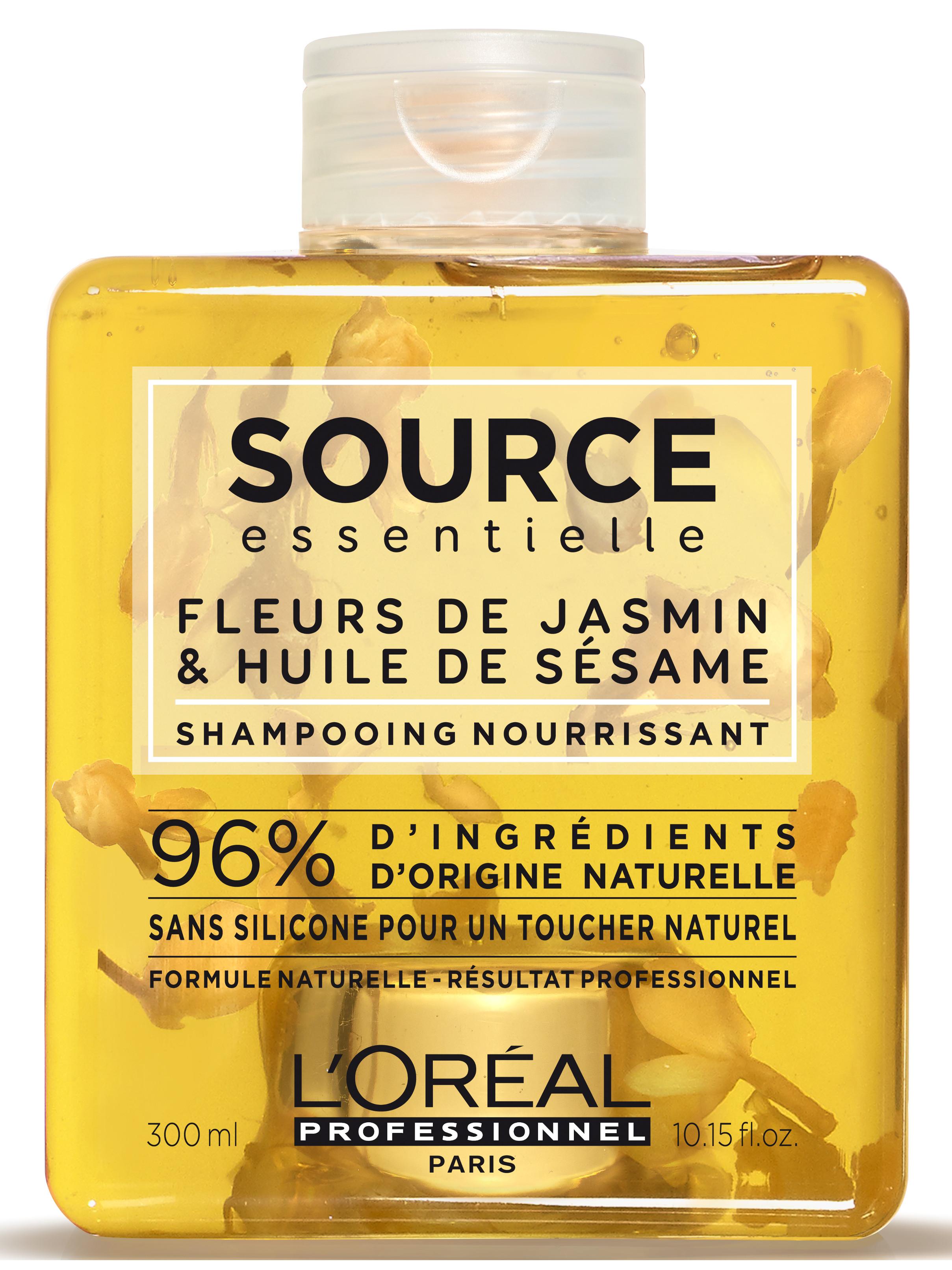Veganský šampon pro suché a zcitlivělé vlasy Loréal Source Nourishing - 300 ml + DÁREK ZDARMA