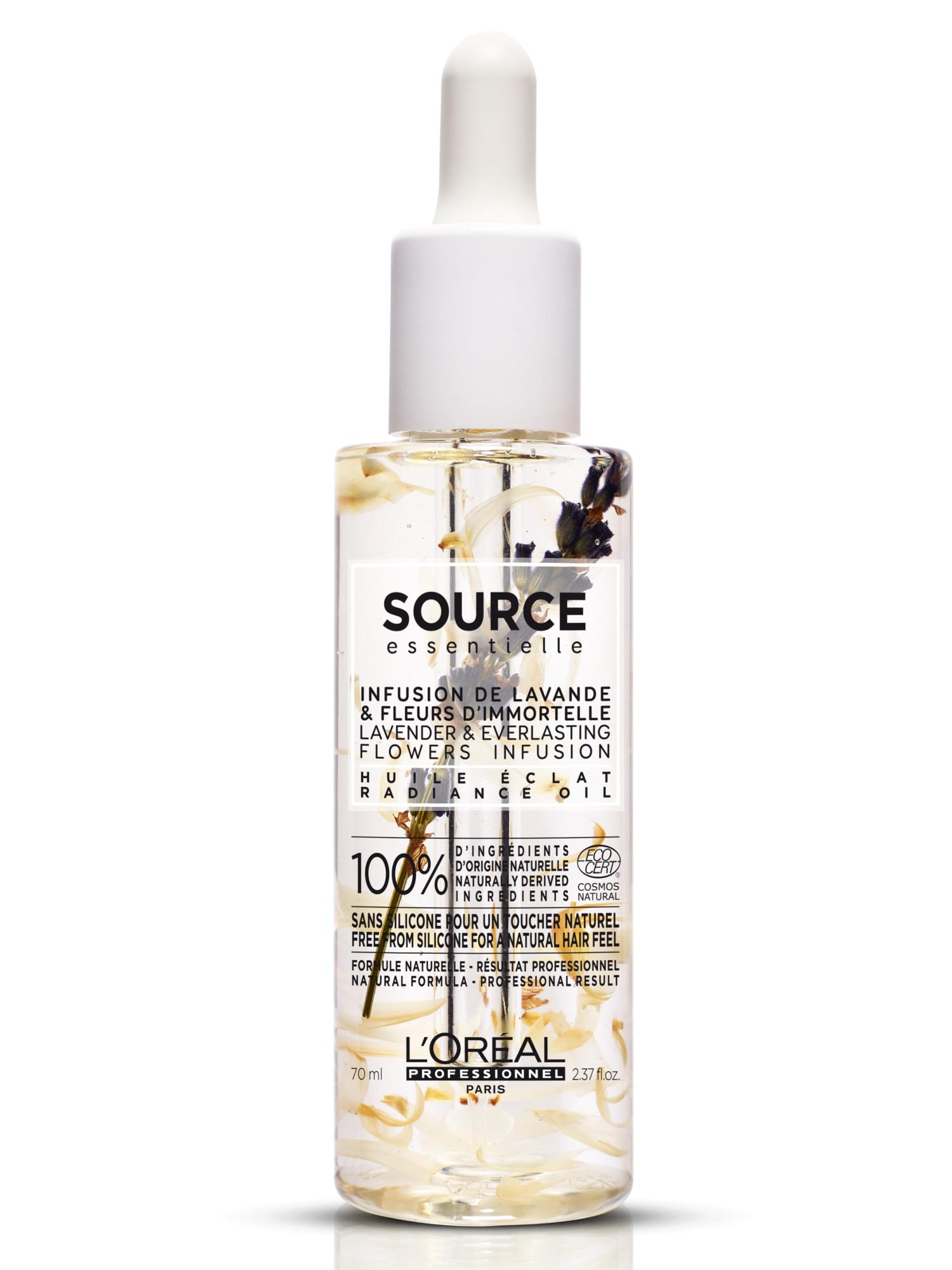 Vyživující olej pro barvené vlasy Loréal Source Radiance - 70 ml + DÁREK ZDARMA