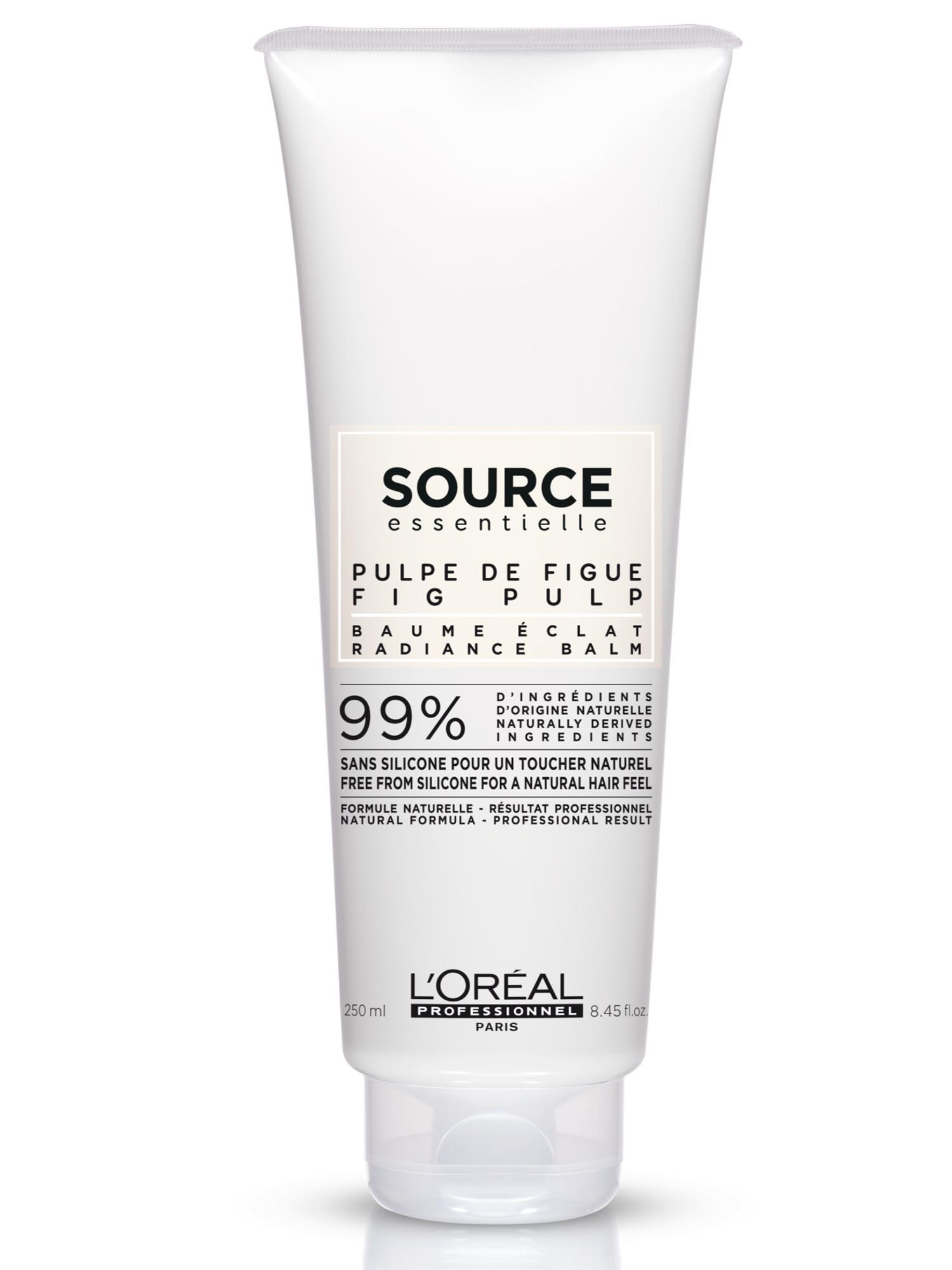 Veganská maska pro barvené vlasy Loréal Source Radiance - 250 ml + DÁREK ZDARMA