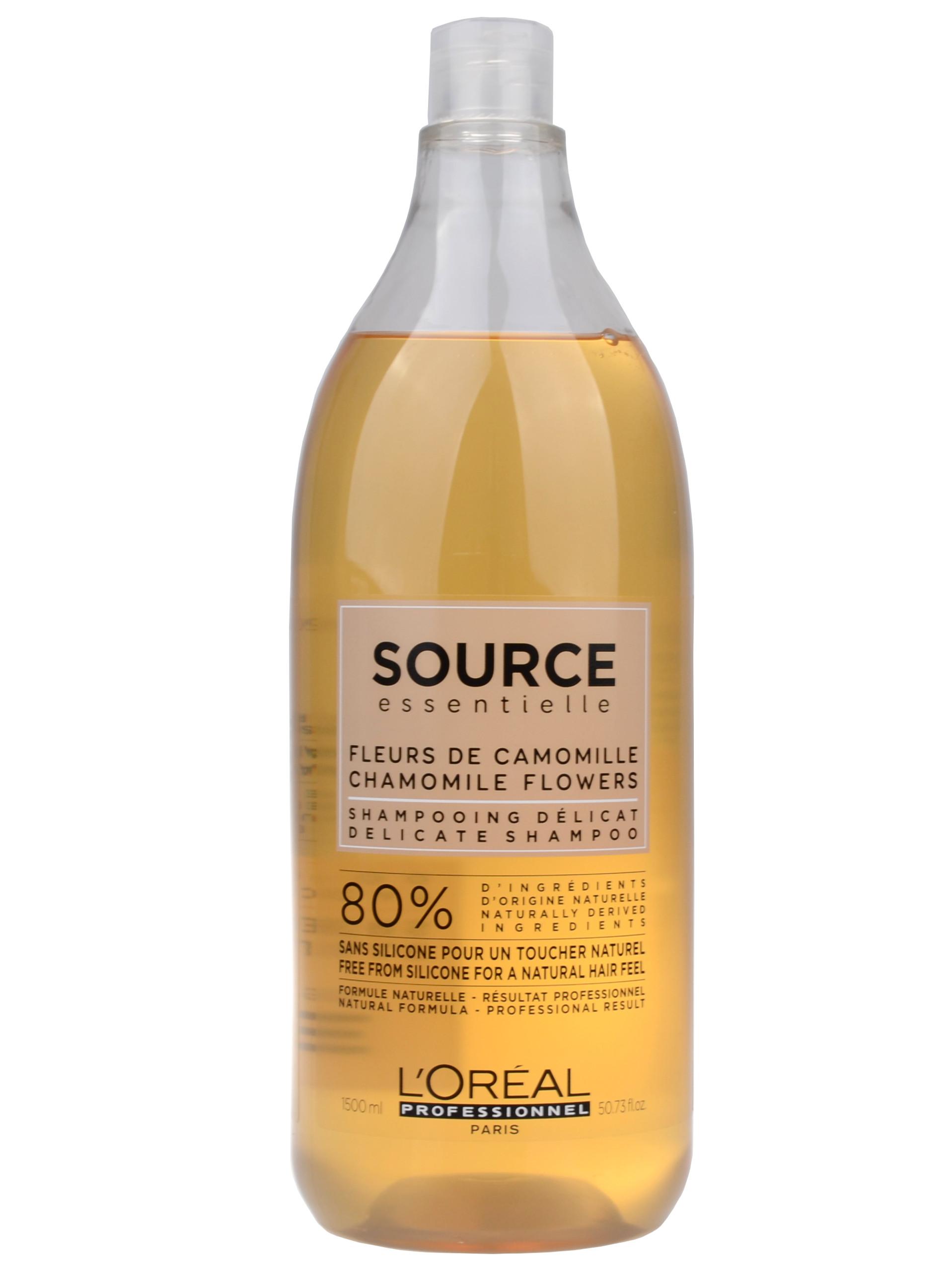 Veganský šampon pro citlivou pokožku Loréal Source Delicate - 1500 ml + DÁREK ZDARMA