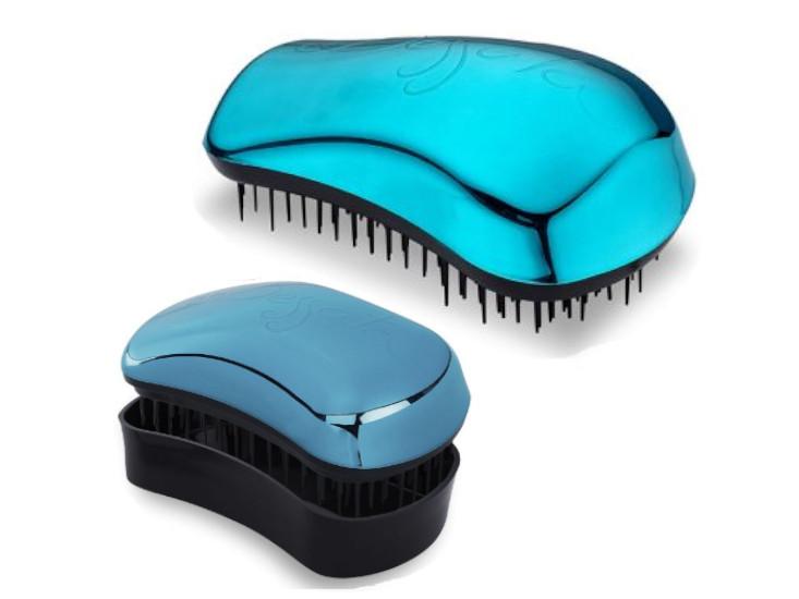 Sada kartáčů na vlasy Dessata Bright Edition - tyrkysová (31105) + DÁREK ZDARMA