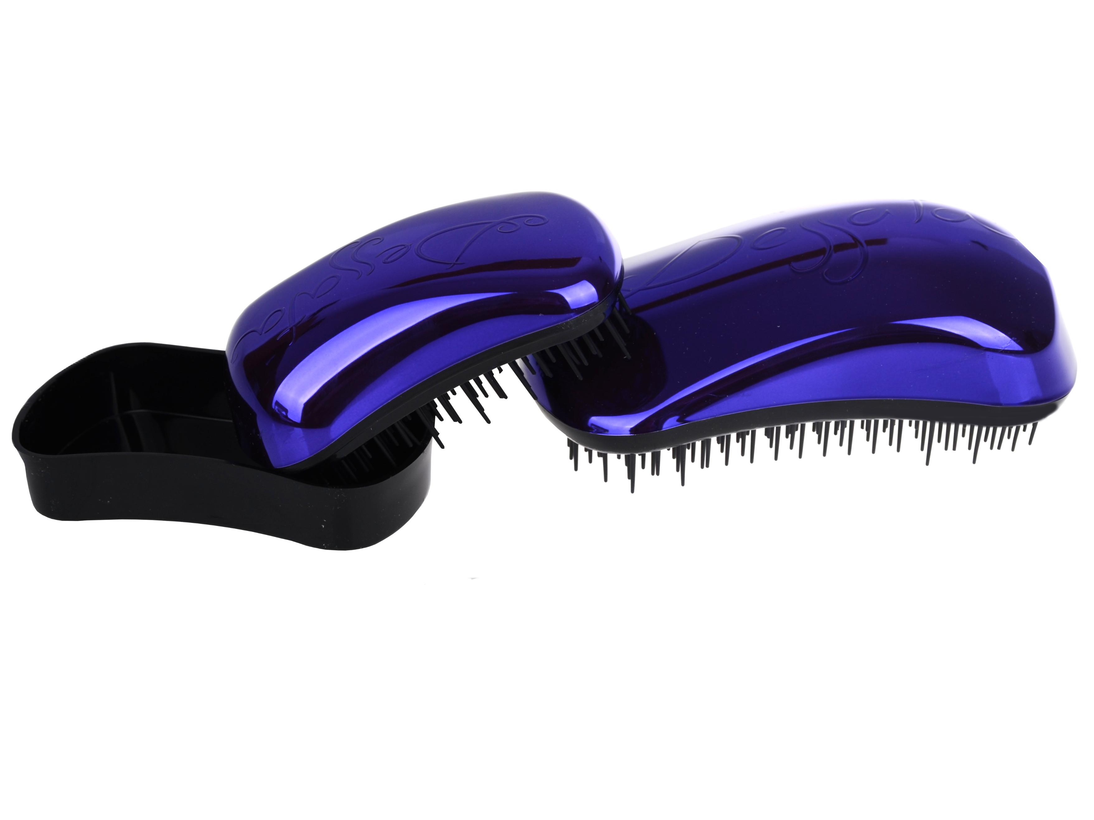 Sada kartáčů na vlasy Dessata Bright Edition - fialová (31106) + DÁREK ZDARMA