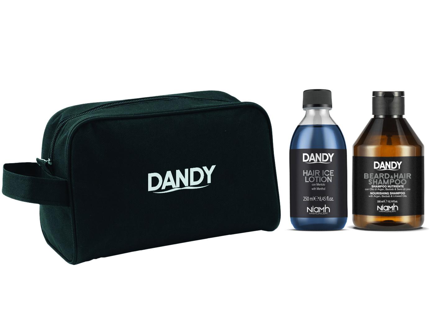 Dárková sada pro mytí vousů a vlasů Dandy (1395) + DÁREK ZDARMA
