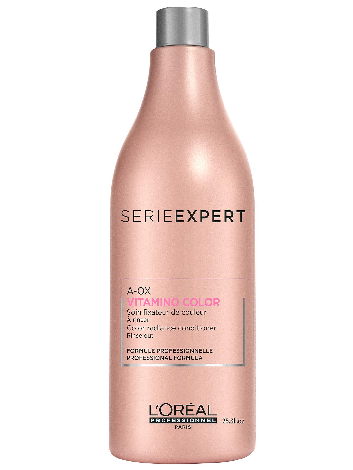 Péče pro ochranu zářivé barvy vlasů Vitamino Color A-OX - 1000 ml - Loréal Professionnel + DÁREK ZDARMA