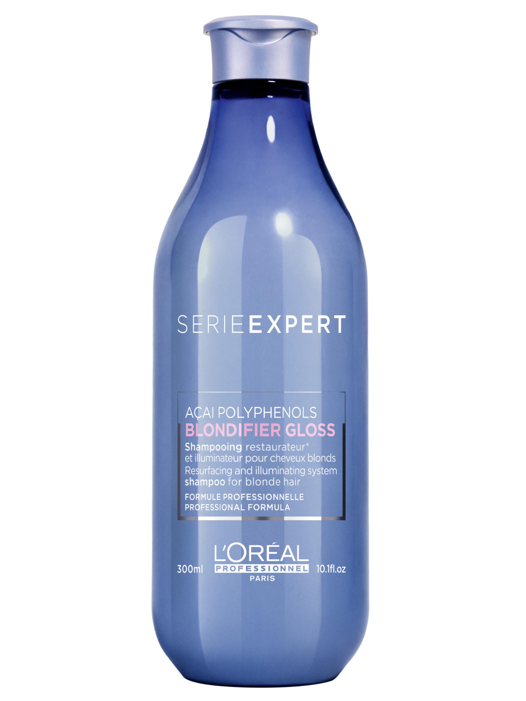 Rozjasňující a regenerační šampon pro blond vlasy Loréal Blondifier Gloss - 300 ml