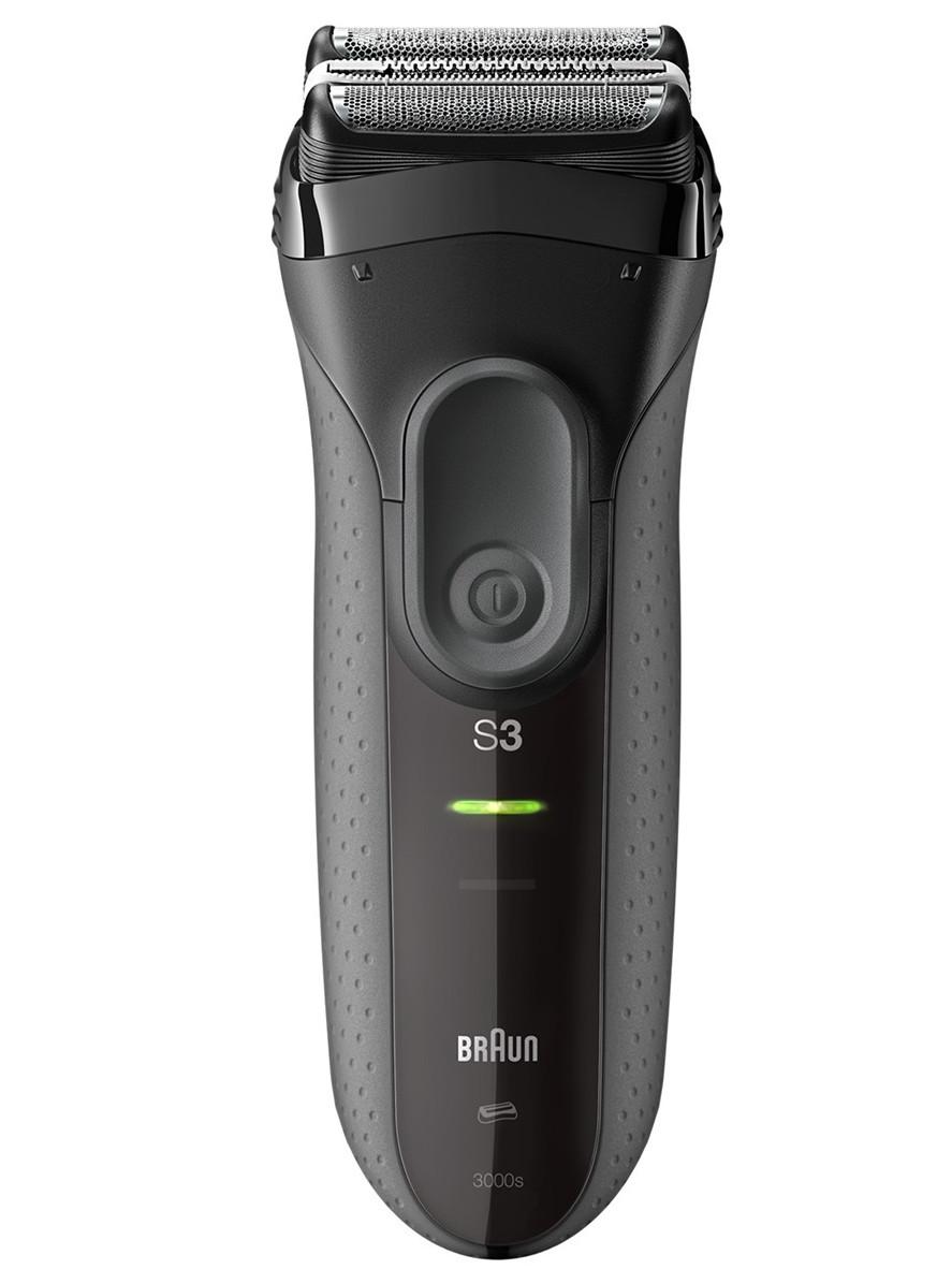 Planžetový holicí strojek Braun Series 3 Pro Skin 3000s - černý (Series 3 300S) + DÁREK ZDARMA