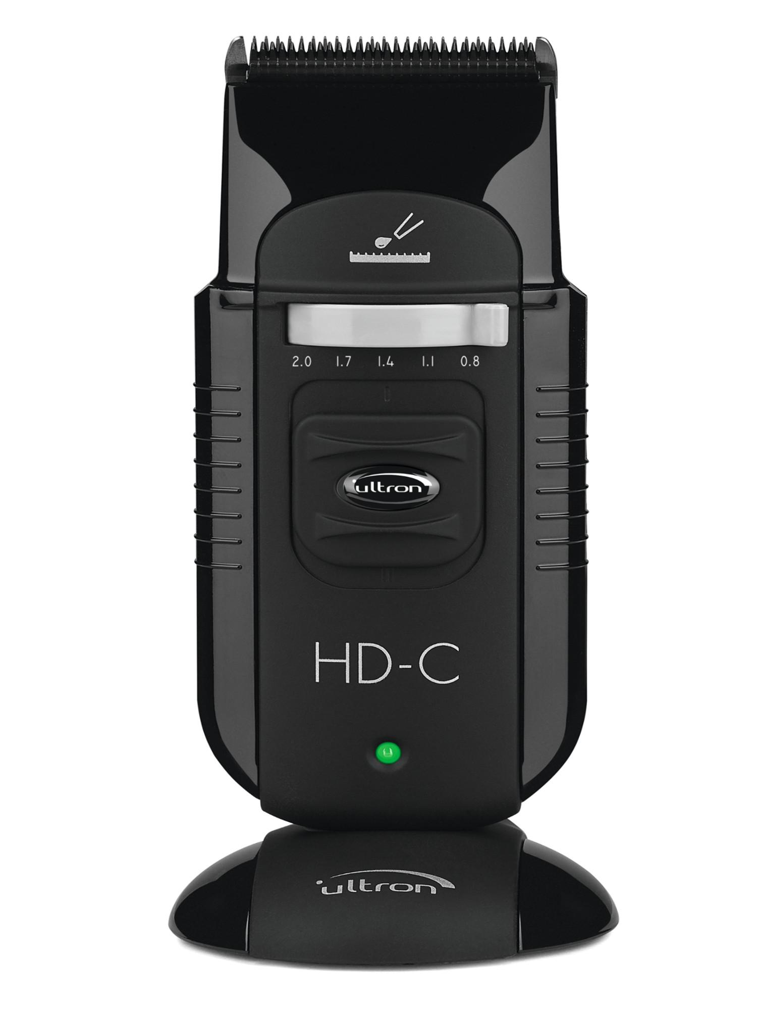 Kompaktní strojek na vlasy Ultron HD-C - černý (7920001) + DÁREK ZDARMA