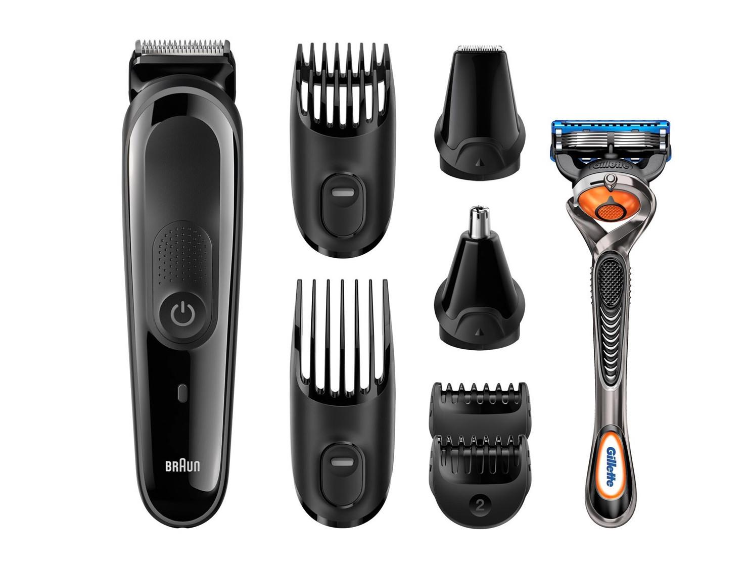 Zastřihovač pro celé tělo Braun MGK3060 - černý + zadarmo holící strojek Gillette + DÁREK Z