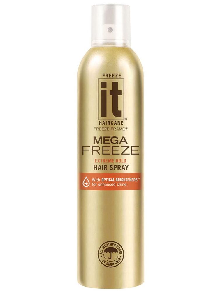 """Rychleschnoucí """"zmrazovač"""" lak na vlasy Freeze it Mega Freeze - 283 g (03101) + DÁREK ZDARMA"""