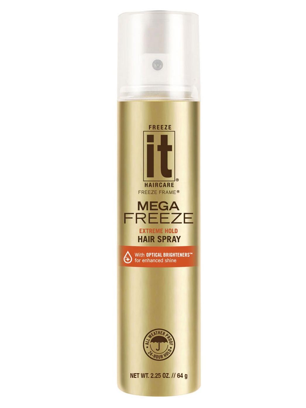 """Rychleschnoucí """"zmrazovač"""" lak na vlasy Freeze it Mega Freeze - 60 g (03110)"""