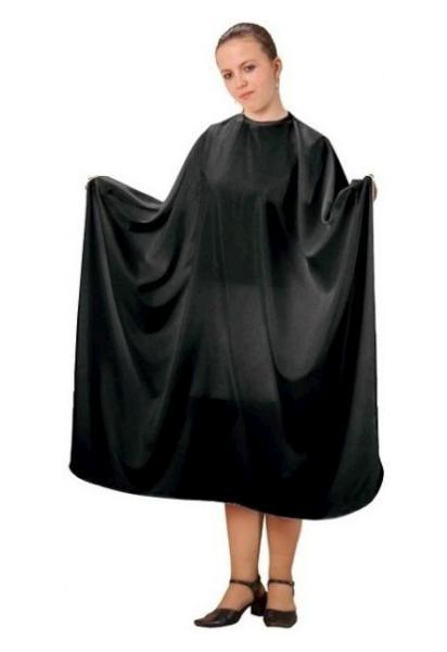 Kadeřnická pláštěnka na stříhání Fox basic line - černá (1509405, 7512006)