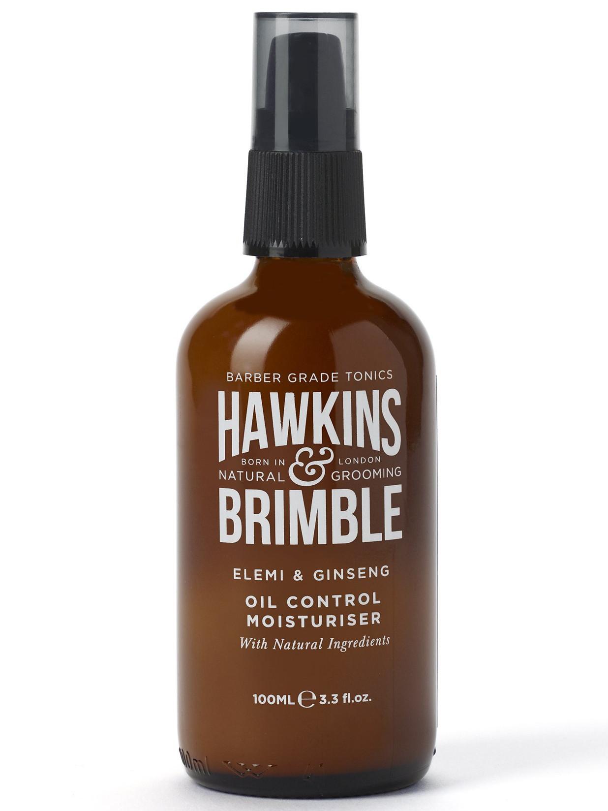 Pánský hydratační krém pro mastnou pleť Hawkins a Brimble Oil Control - 100 ml (HAW012) + DÁREK ZDARMA