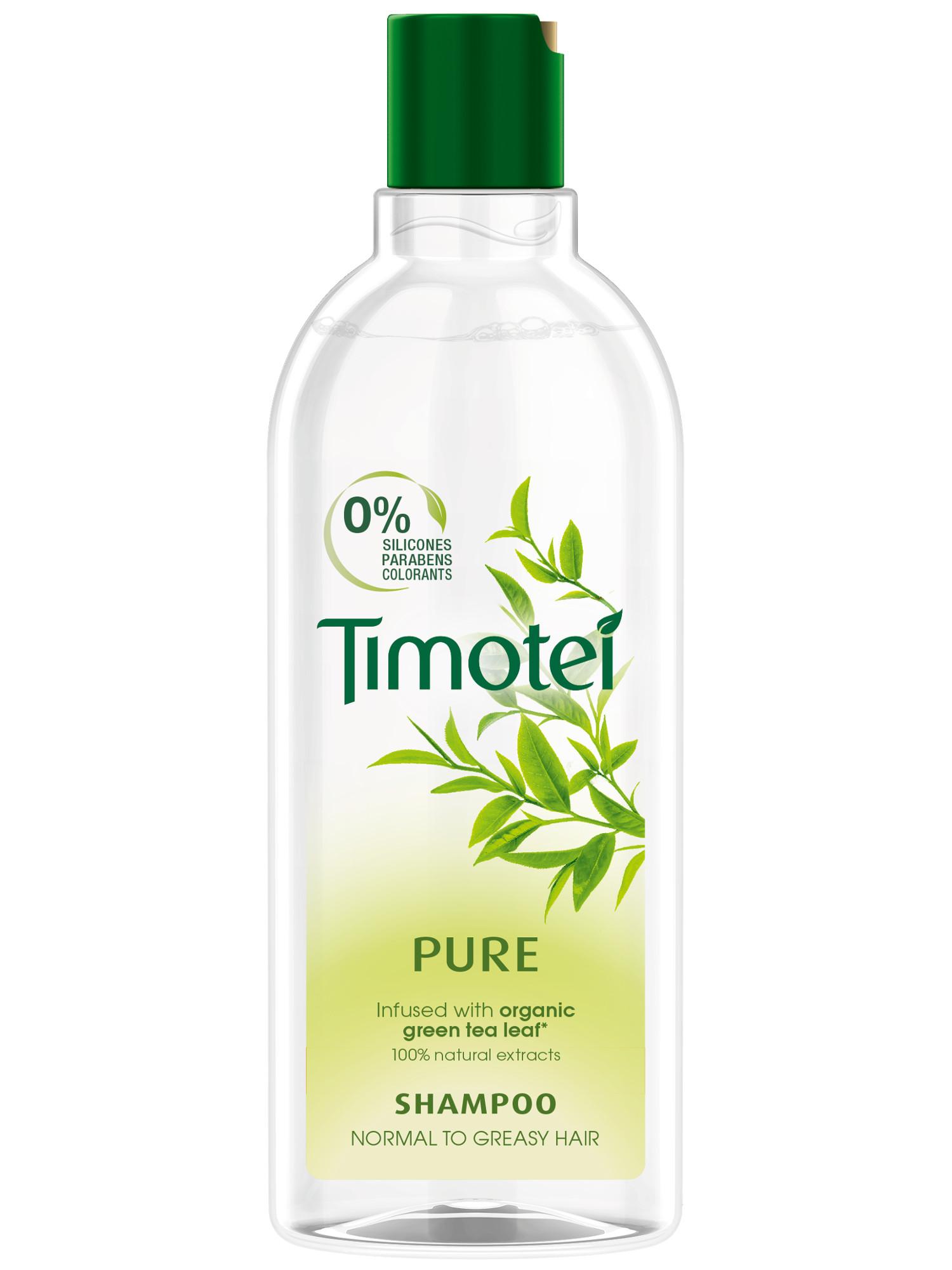 Čistící šampon pro normální a mastné vlasy Timotei Pure - 400 ml (67409649; 68224115)