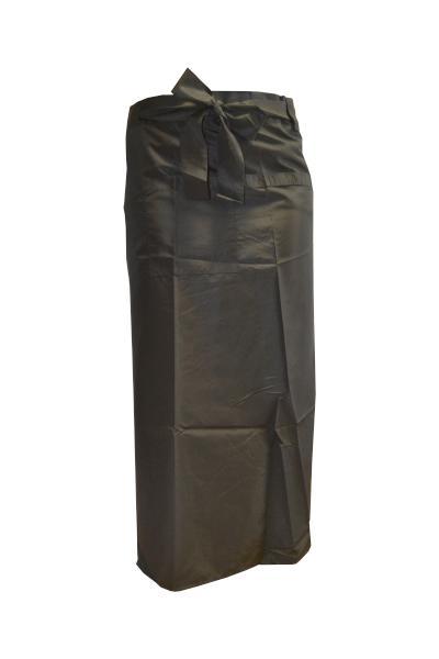 Kadeřnická zástěra Fox Silky Line - černá (1509418, 7512025)
