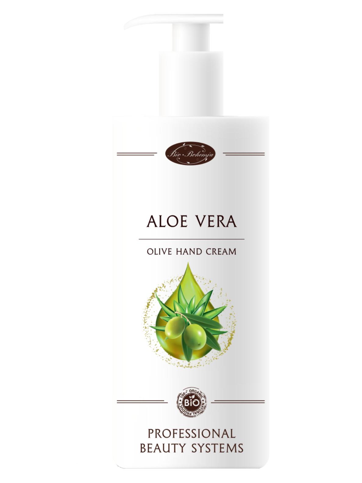 Krém na ruce s olivovým olejem a Aloe Vera Bio Bohemia Aloe Vera - 500 ml (3610)