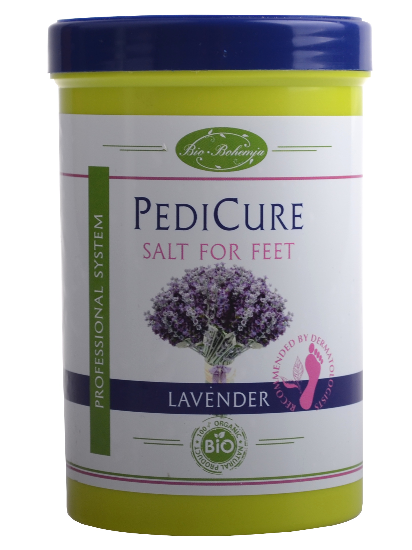 Koupelová sůl na nohy s levandulovým olejem Bio Bohemia Lavender - 420 ml (950600)