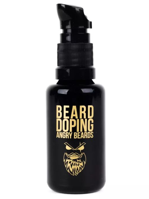 Sérum pro růst vousů Angry Beards Beard Doping - 30 ml (BEARD-DOPING) + DÁREK ZDARMA
