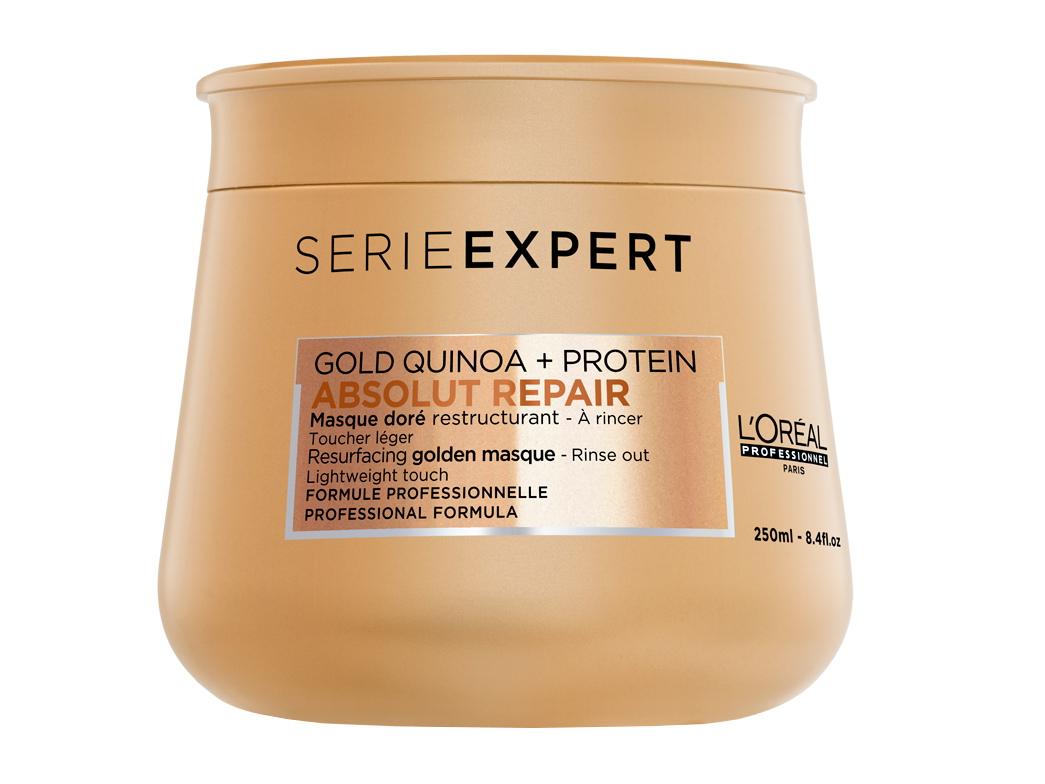 Regenerační zlatá maska pro velmi poškozené vlasy Loréal Absolut Repair Gold - 250 ml + DÁREK ZDARMA