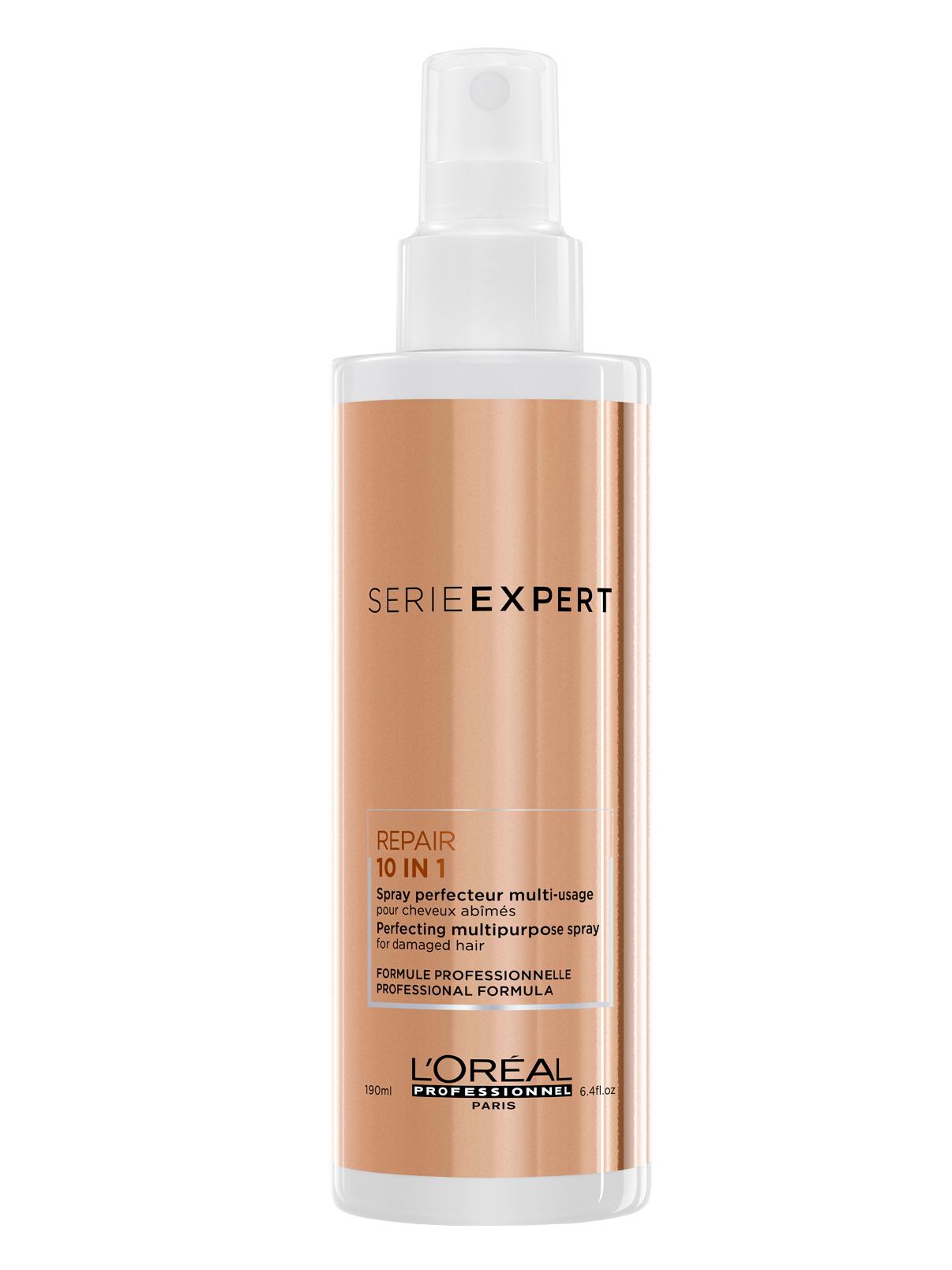 Bezoplachový sprej pro poškozené vlasy Loréal Absolut Repair 10 in 1 - 190 ml