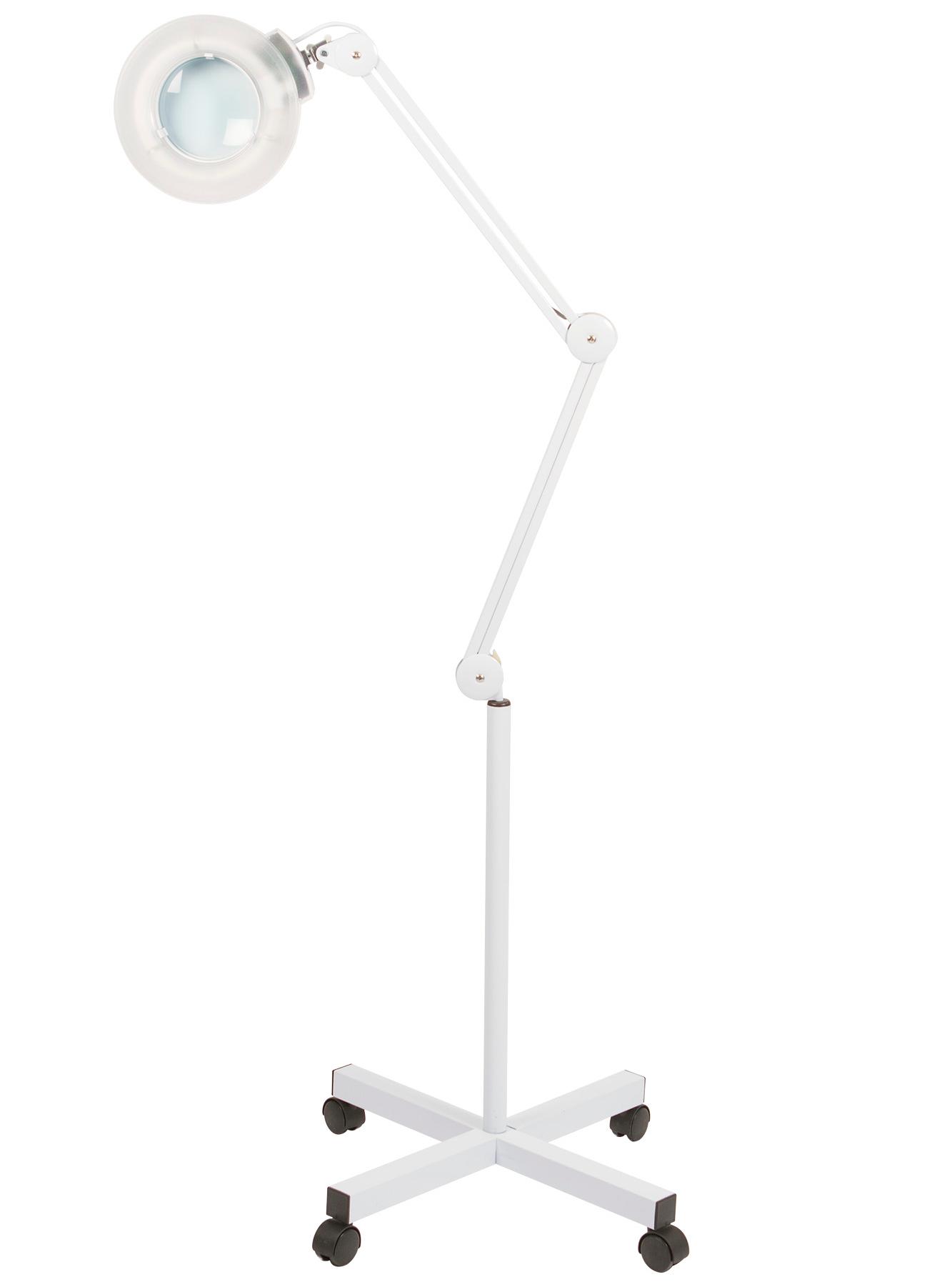 Kosmetická lampa s lupou Weelko Broad WKL002 - 3 dioptrie + DÁREK ZDARMA