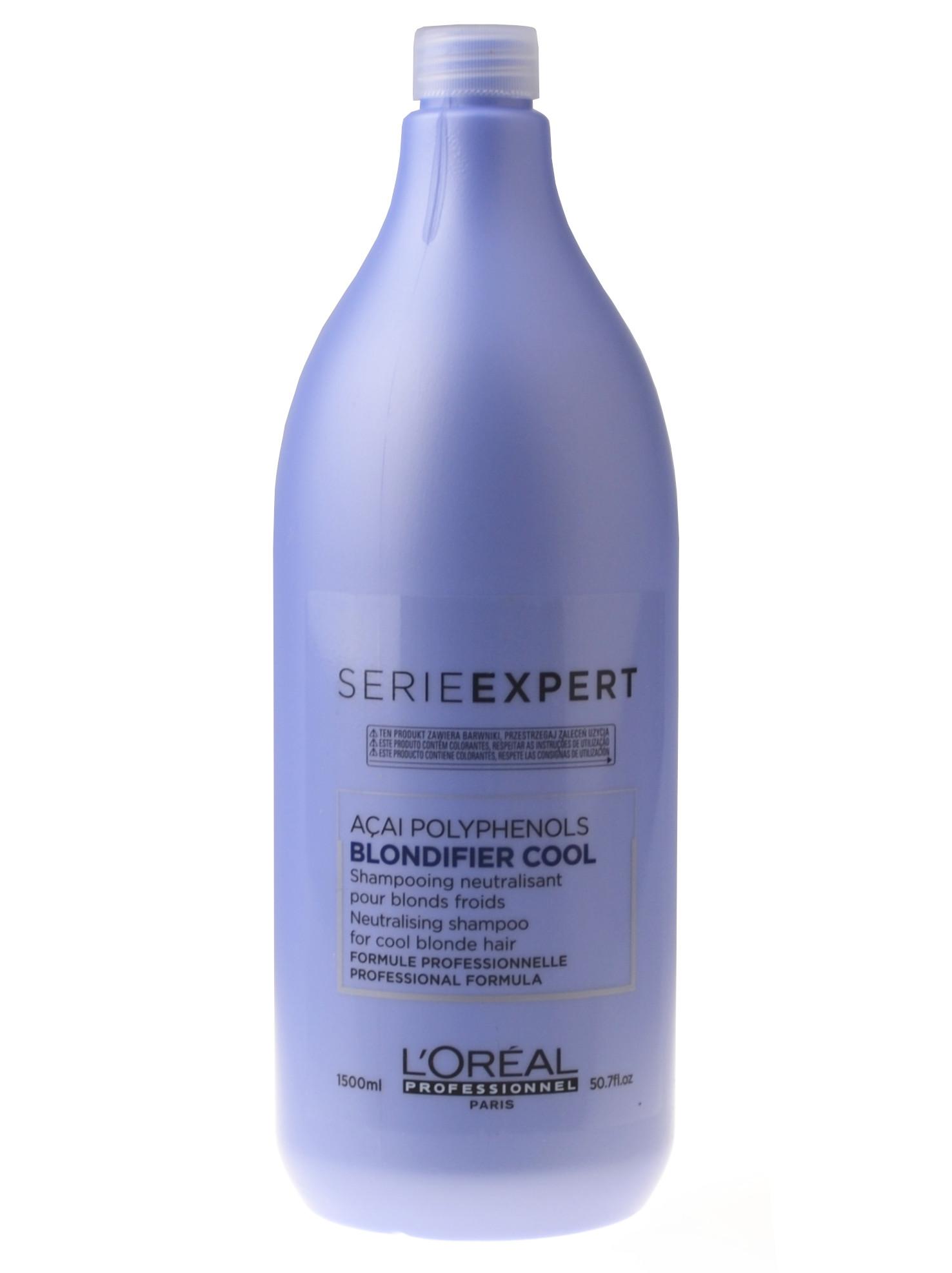 Neutralizační šampon pro blond vlasy Loréal Blondifier Cool - 1500 ml + DÁREK ZDARMA