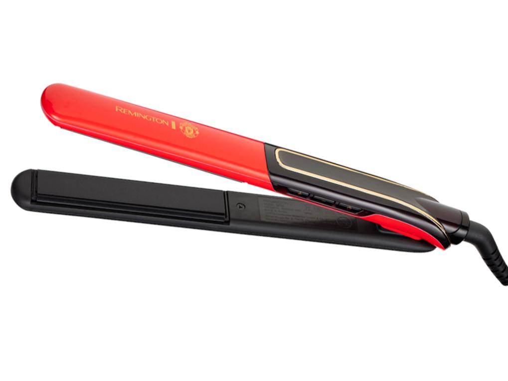 Žehlička na vlasy Remington Sleek a Curl Manchester United S6755 + DÁREK ZDARMA