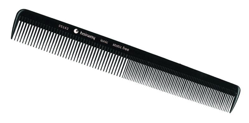 Hřeben ionic na stříhání vlasů Hairway 252 mm (05162)