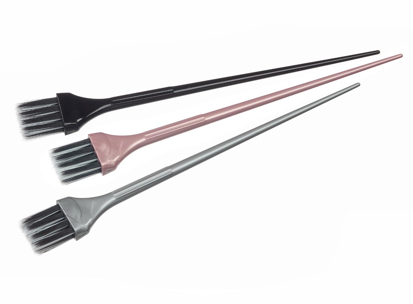 Sada štětců na barvení vlasů Sibel - 2 cm, 3 ks (6600571)