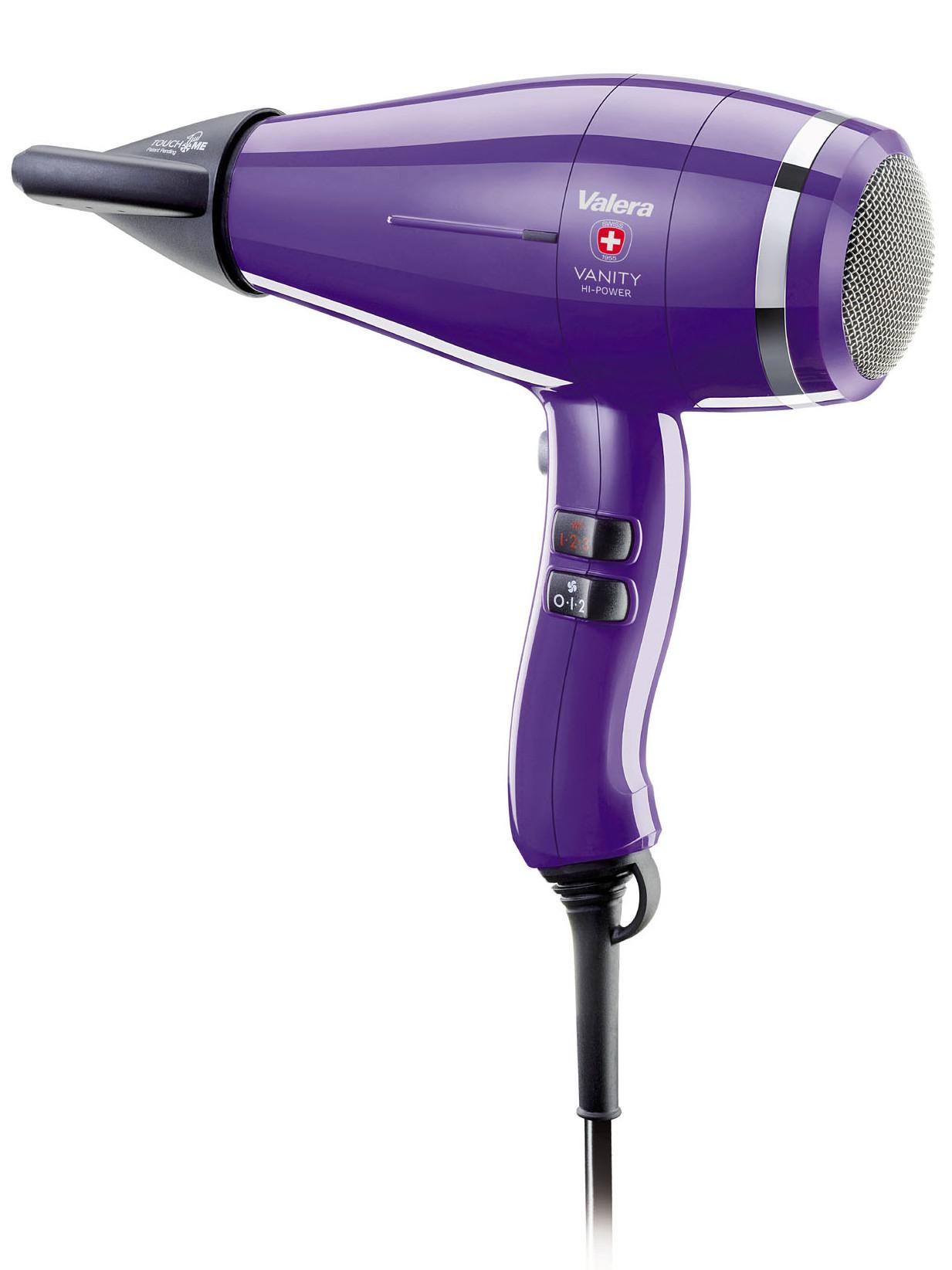 Profesionální fén Valera Vanity Hi-Power Pretty Purple - 2400 W, fialový (VA8605RCPP) + DÁREK ZDARMA
