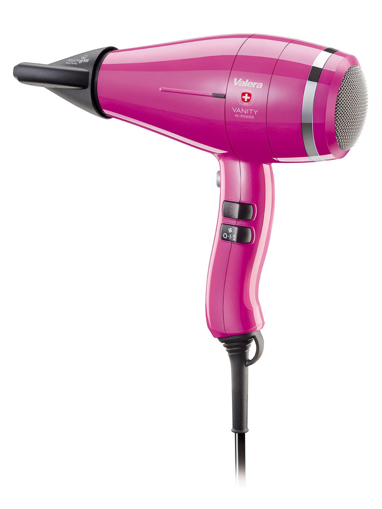 Profesionální fén Valera Vanity Hi-Power Hot Pink - 2400 W, růžový (VA8605RCHP) + DÁREK ZDARMA