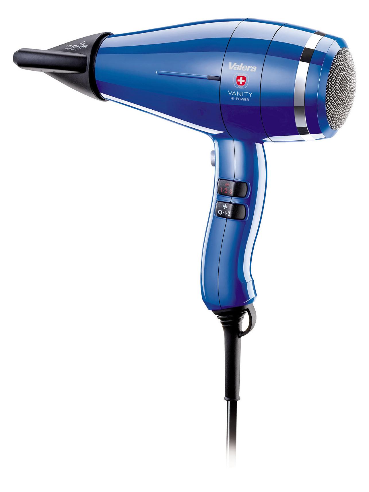 Profesionální fén Valera Vanity Hi-Power Royal Blue - 2400 W, modrý (VA8605RCRB) + DÁREK ZDARMA