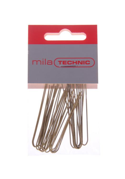 Vlásenka prostá Mila - 5 cm, zlatá - 20 ks (0067075)