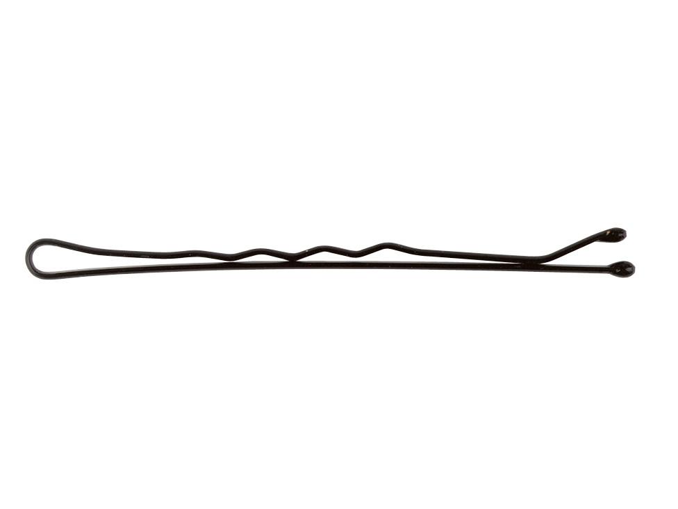 Vlnitá sponka Sibel Wavy - 5 cm, černá - 500 g (940005102) + DÁREK ZDARMA